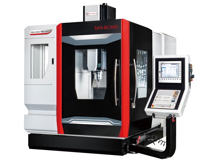 5 Axis Simultaneous Machine Center